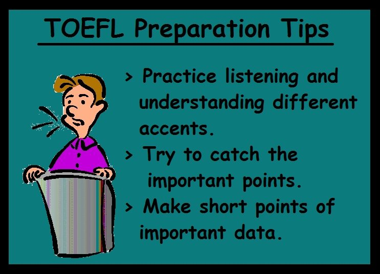 TOEFL Preparation Tips-Listening section