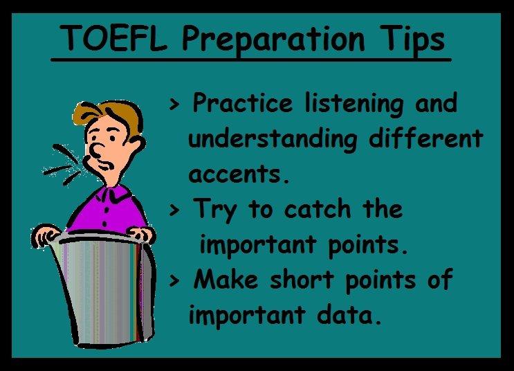 TOEFL Preparation Tips-Listening section