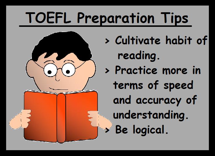 TOEFL Preparation Tips-Reading section