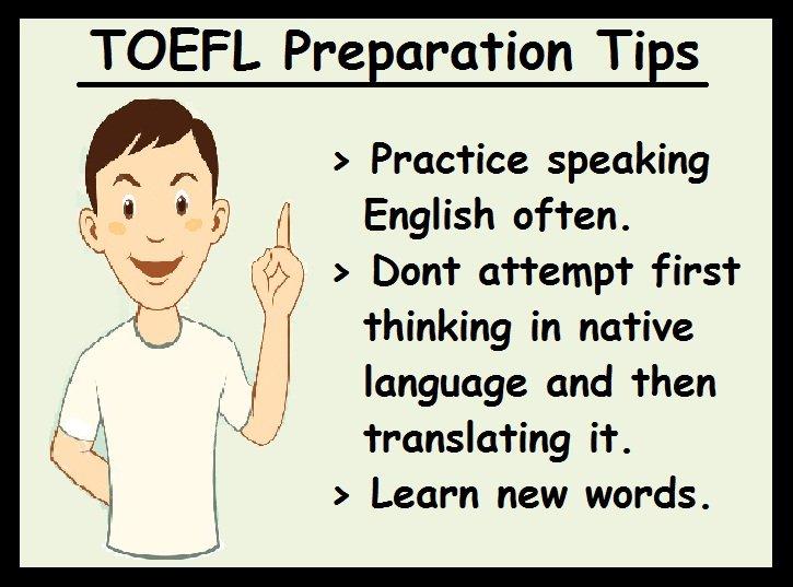 TOEFL Preparation Tips-Speaking section