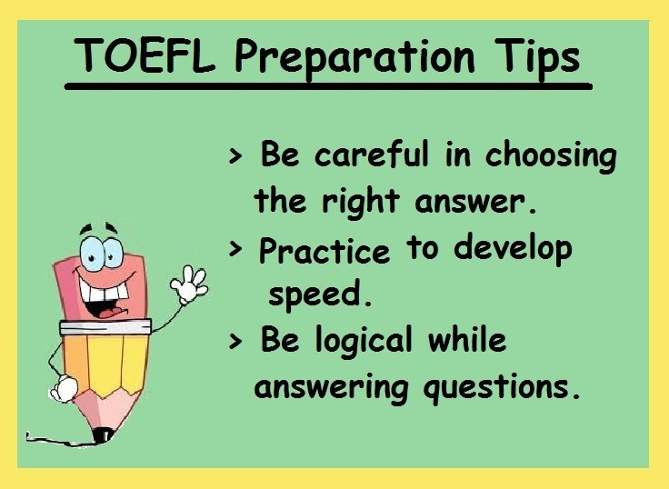 TOEFL Preparation Tips- Writing section
