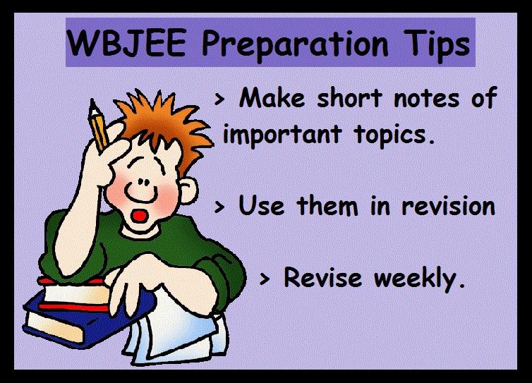 WBJEE Preparation Tips- Revise