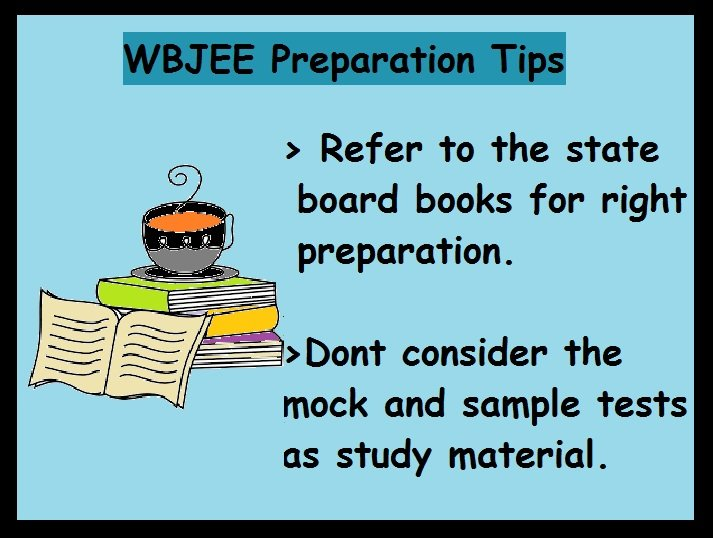 WBJEE Preparation Tips- Study material