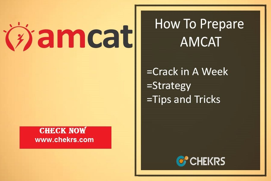 How To Prepare AMCAT (Aptitude Test)- Tips, Crack in A Week