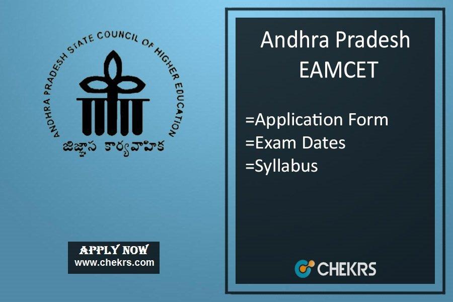 AP EAMCET : Application Form, Date, Eligibility, Syllabus & Pattern