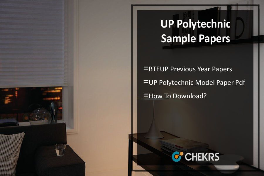 UP Polytechnic Sample/ Model Paper - BTEUP Previous Year Papers