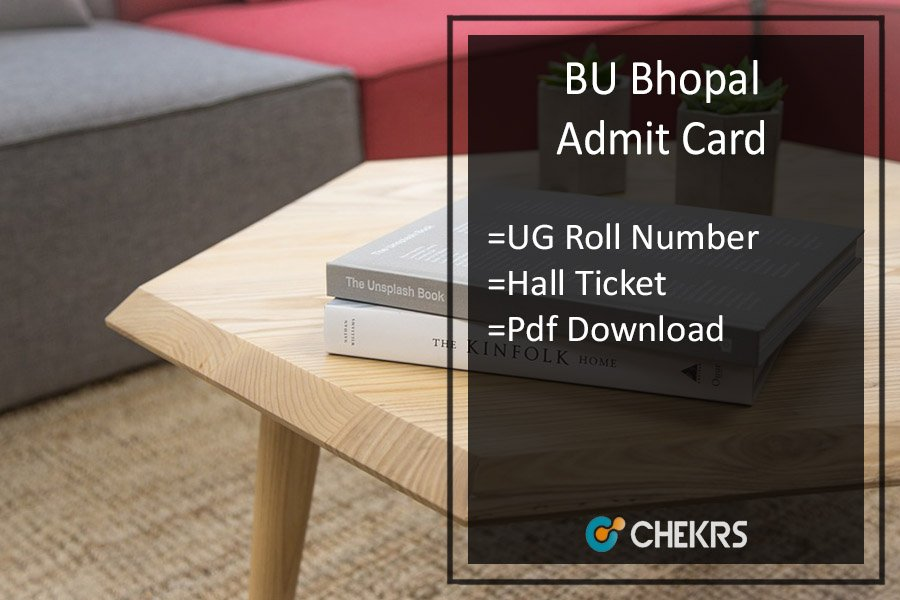 BU Bhopal Admit Card- Barkatullah BA BSC BCOM BCA Roll Number