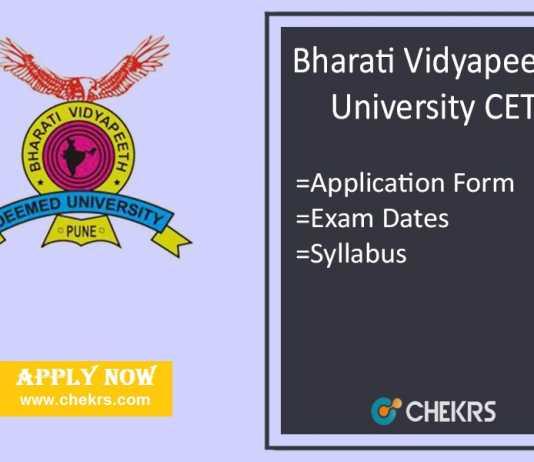 BVP CET : Application Form, Eligibility, Dates, Exam Syllabus & Pattern