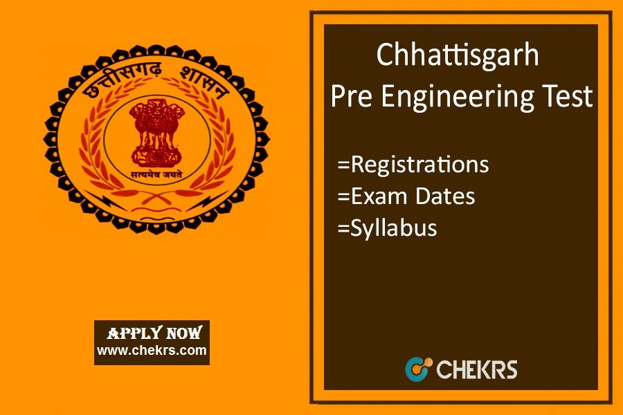 CG PET : Application Form, Syllabus, Dates, Exam Pattern