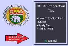 How To Prepare for DU JAT - Tips to Crack in Month, Strategy