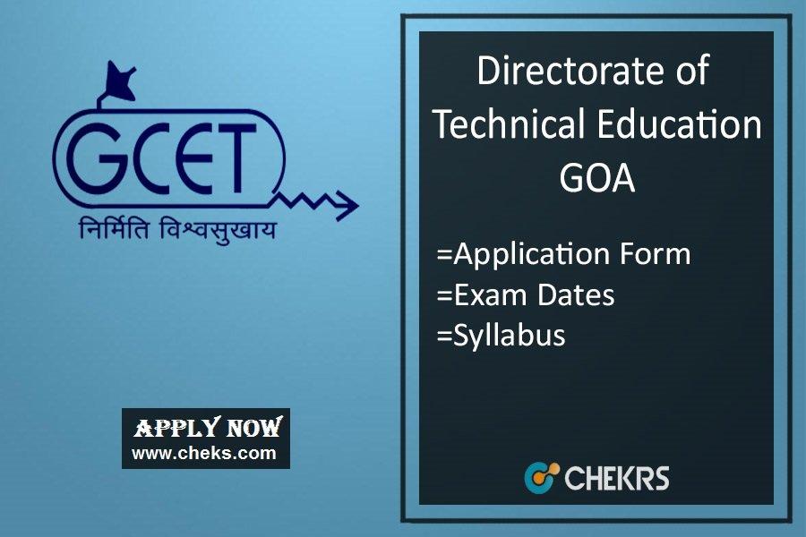 GCET : Application Form, Eligibility, Dates, Syllabus & Exam Pattern