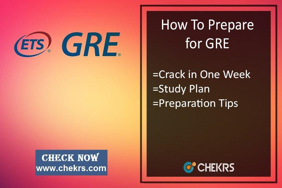 GRE Preparation Tips- How To Prepare/ Crack Verbal Exam in 1 Week