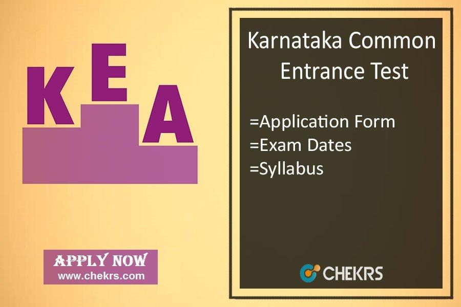 KCET : Application Form, Exam Dates, Eligibility, Syllabus & Pattern