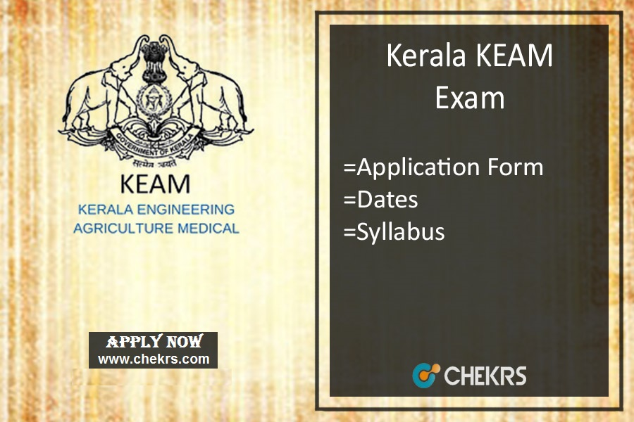 KEAM : Application Form, Date, Eligibility, Syllabus & Exam Pattern
