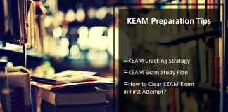 How To Crack KEAM - Preparation Tips, Strategy & Study Plan