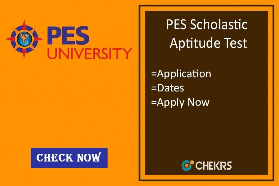PESSAT : Application Form, Dates, Eligibility, Exam Pattern
