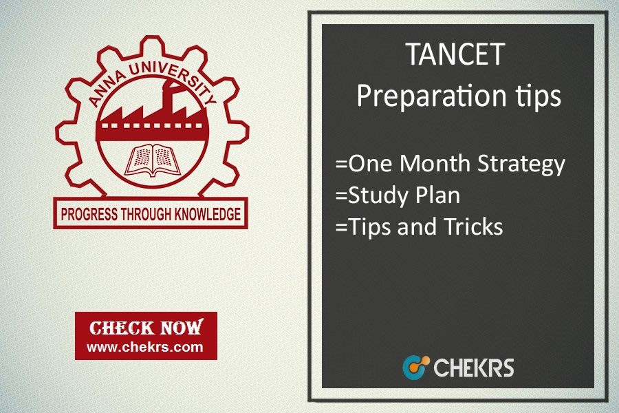 How To Prepare TANCET - Tips To Crack Exam, 1 Month Tricks