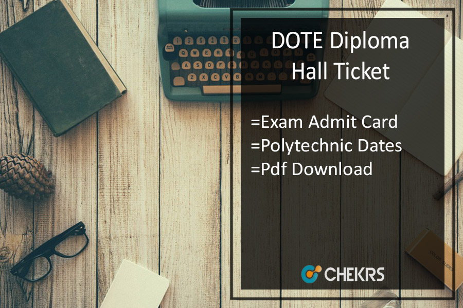 DOTE Diploma Hall Ticket - Download TNDTE Polytechnic Admit Card