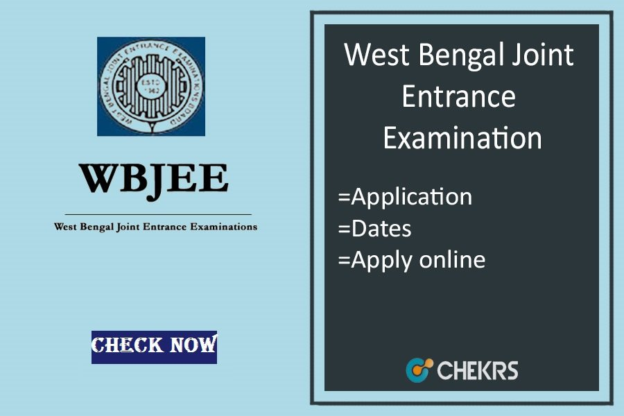 WBJEE : Application Form, Exam Dates, Syllabus, Eligibility