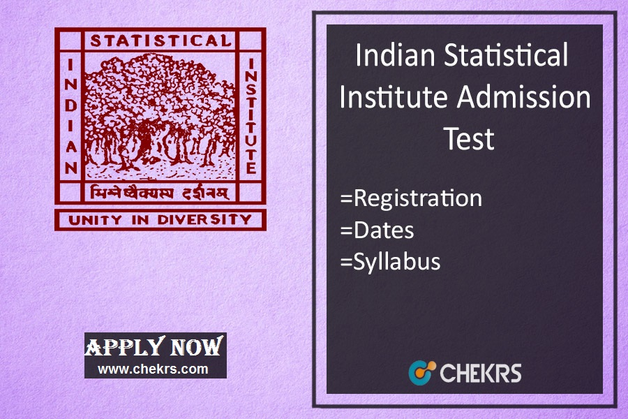 ISI : Admission, Application Form, Exam Date, Syllabus & Pattern