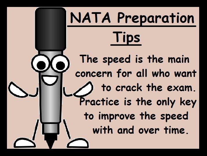 NATA Preparation Tips-Speed