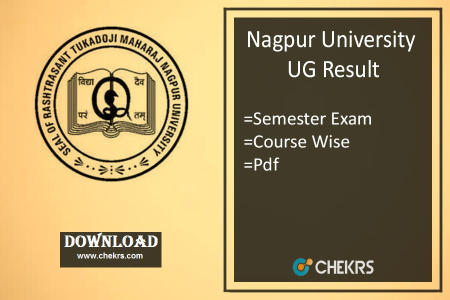 RTMNU Result Winter - Nagpur Univ 1st 3rd 5th Sem Results