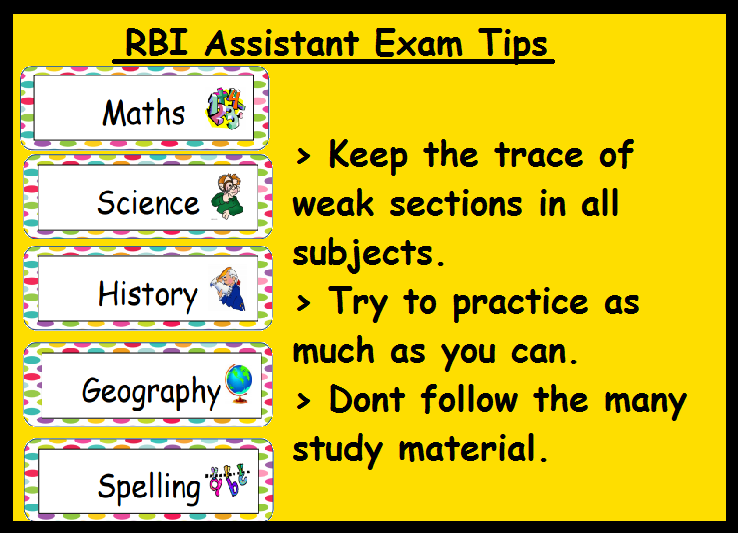 RBI Assistant Exam Preparation