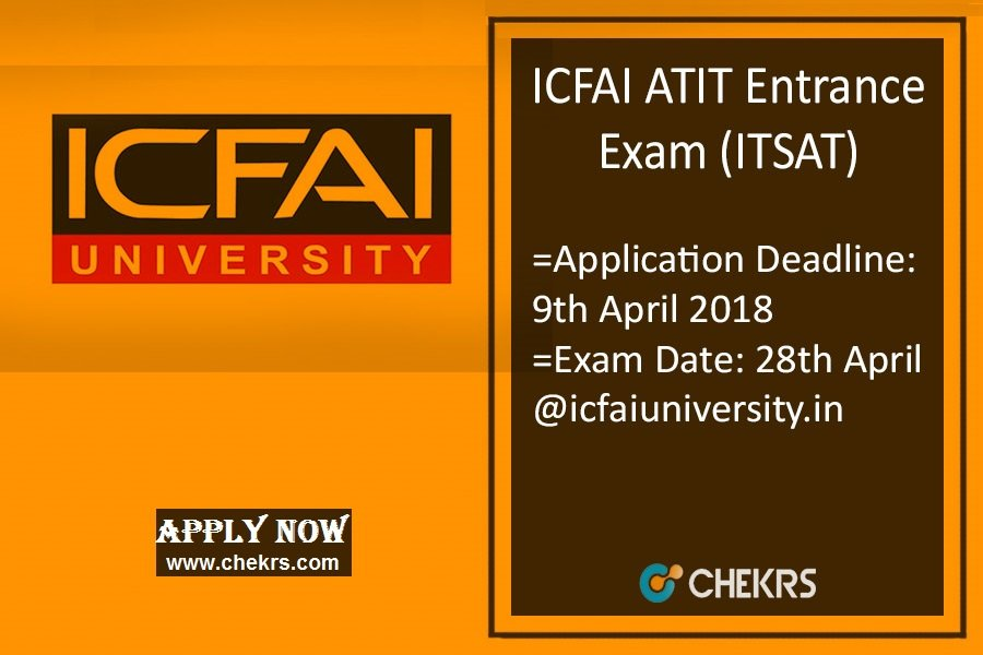 ATIT (ITSAT) : Application Form, Dates, Eligibility, Syllabus & Pattern