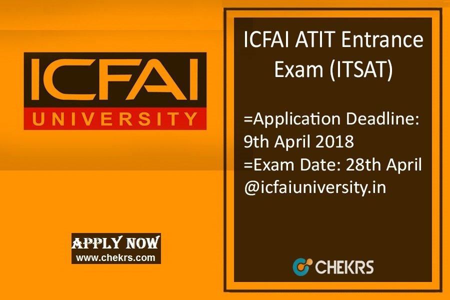 ATIT (ITSAT) : Application Form, Dates, Eligibility, Syllabus & Pattern