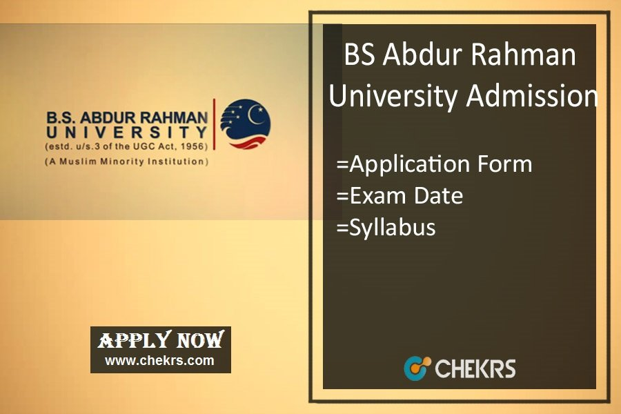 BSAUEEE : Admission, Application Form, Date, Syllabus & Pattern