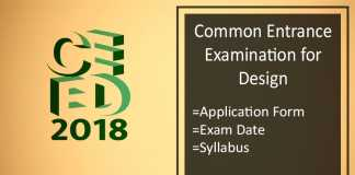 CEED : Application Form, Date, Exam Eligibility and Syllabus