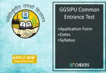IPU CET : Application Form, Eligibility, Exam Date, Syllabus