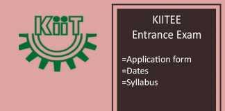 KIITEE : Application Form, Exam Dates, Eligibility, Syllabus
