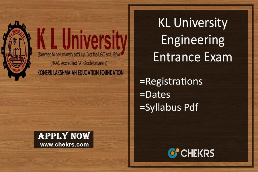 KLUEEE : Application Form, Dates, Eligibility, Syllabus & Pattern