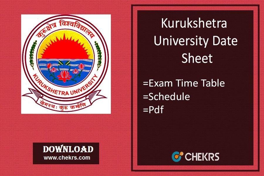 KUK Date Sheet - BA BSC BCOM BBA (1st-3rd-5th) Sem Dec Time Table