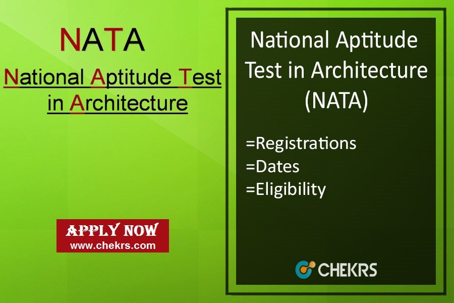 NATA: Application Form, Exam Date, Eligibility, Syllabus