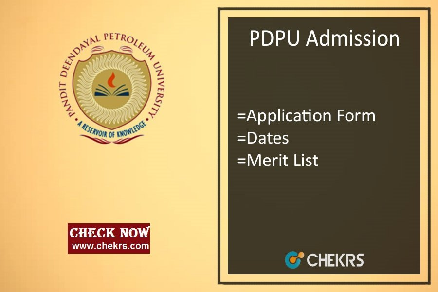PDPU Admission : Application Form, Dates, Eligibility, Merit List