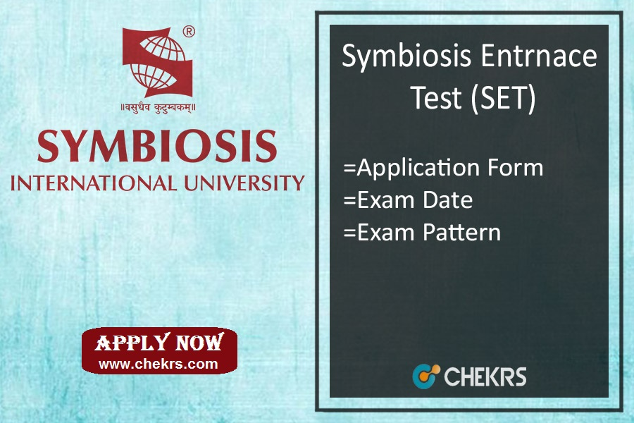 Symbiosis SET : Application Form, Date, Syllabus, Exam Pattern