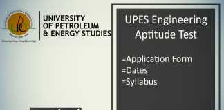 UPESEAT : Application Form, Date, Eligibility, Syllabus & Pattern