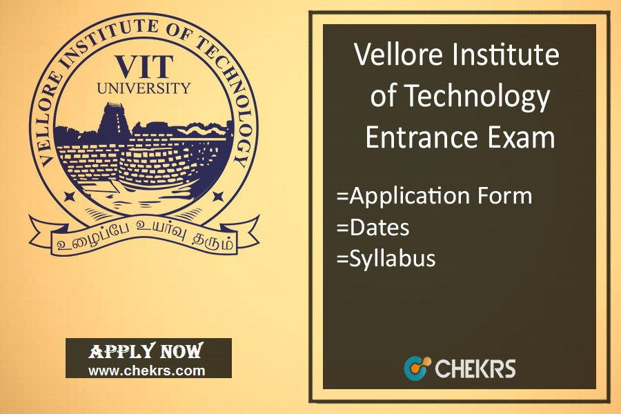 VITEEE: Application Form, Exam Date, Syllabus & Pattern