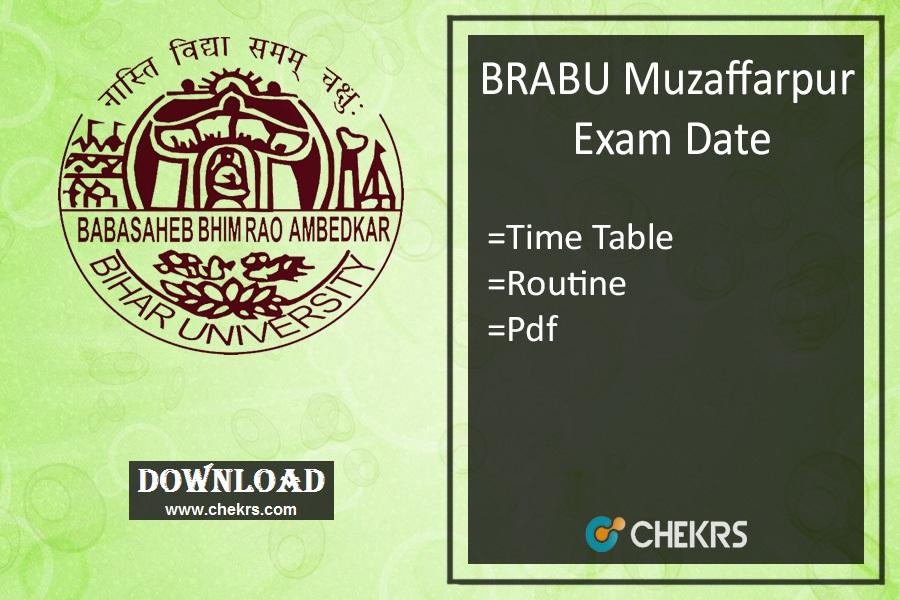 brabu exam date