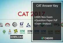 cat answer key