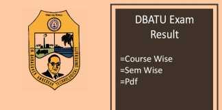 dbatu result