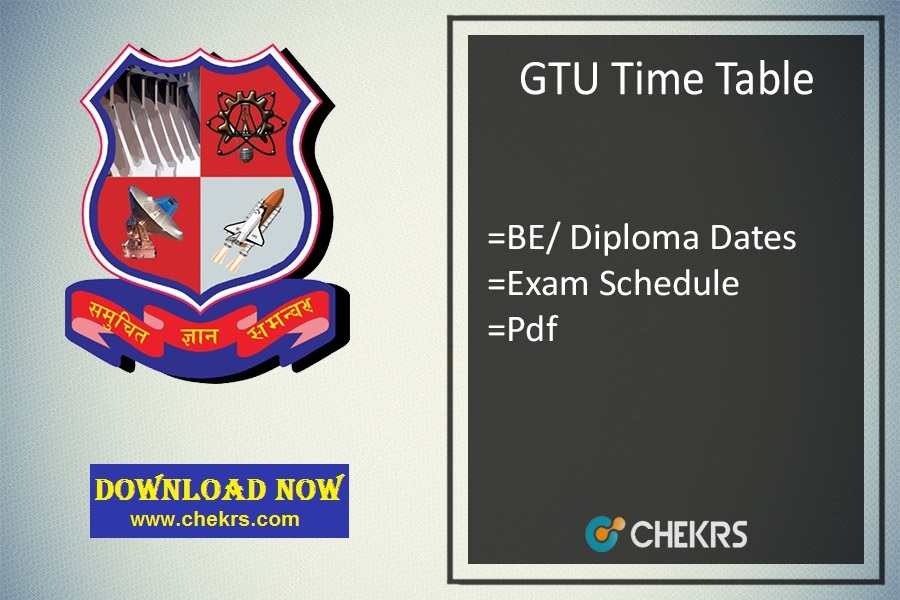 gtu time table summer