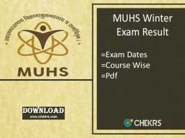 muhs winter exam result