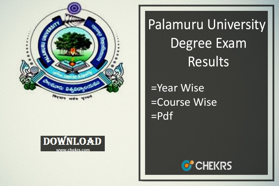 palamuru university exam results