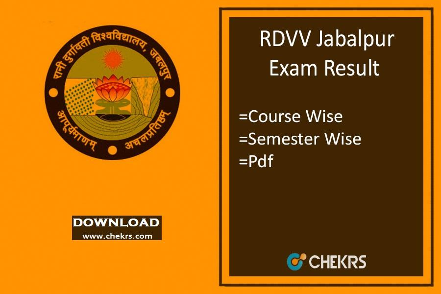 rdvv result
