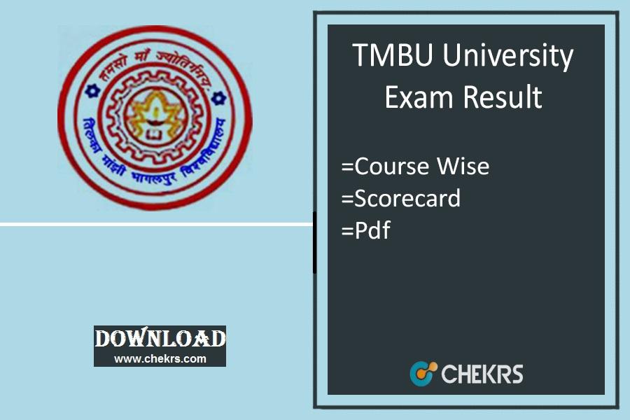 tmbu exam result