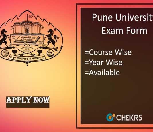 unipune exam form