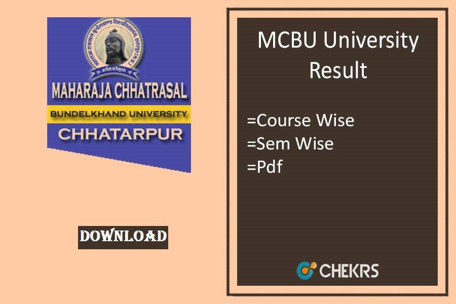 mcbu result